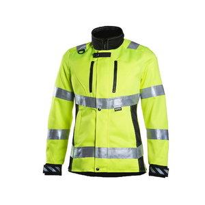 Kõrgnähtav jakk Dimex 6012, kollane, naistele L