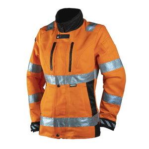 Kõrgnähtav jakk 6012, oranž, naistele, Dimex