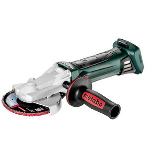 Cordless flat head grinder WF 18 LTX 125 Quick, wo battery/c, Metabo
