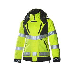 Žieminė  striukė, moteriška Dimex 6013,  geltona 2XL