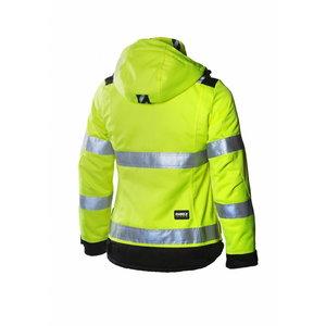 Žieminė  striukė, moteriška Dimex 6013,  geltona, DIMEX