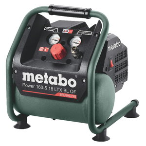 Akutoitel kompressor Power 160-5 18 LTX BL OF, karkass, Metabo