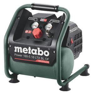 Akuga kompressor Power 160-5 18 LTX BL OF, karkass, Metabo