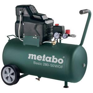 Kompresors Basic 280-50 W OF, bez eļļas, Metabo
