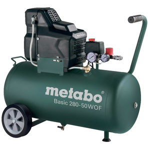 Kompresors Basic 280-50 W OF, bez eļļas, Metabo