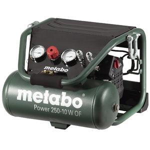Bezeļļas kompresors Power 250-10 W OF, Metabo
