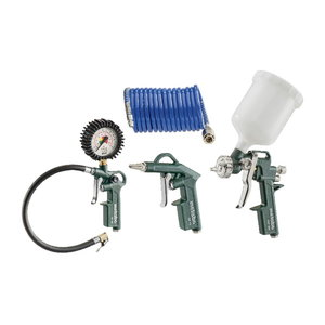 Compressed Air Tool Set LPZ 4 Set, Metabo