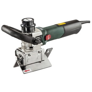 Electric bevelling tool KFM 15-10 F, 45° head, Metabo