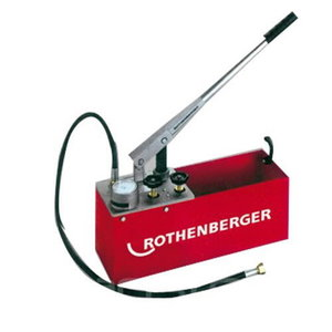 Rankinė pompa vamzdyno testavimui RP 50-S, 0-60 bar, Rothenberger