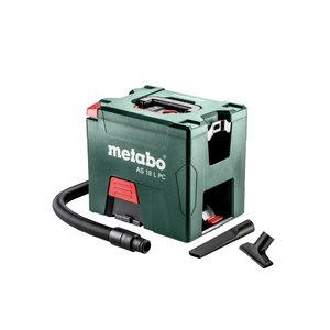 Akumulatora putekļusūcējs AS 18 L PC, 18V / 5,2Ah, Metabo