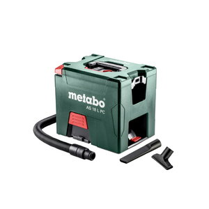 Cordless vacuum cleaner AS 18 L PC, without battery/charger, Metabo