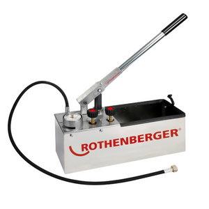 Testavimo pompa 60bar RP50 S INOX, Rothenberger