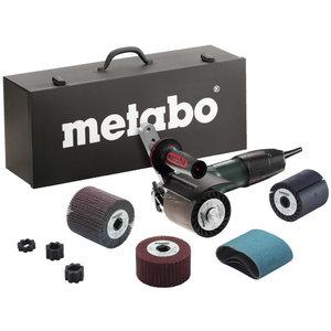 Paviršiaus šlifavimo įrankis SE 12-115 INOX su priedais, Metabo