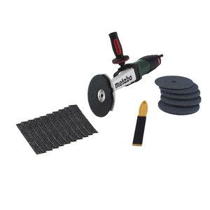 Угловая шлифовальная машина KNSE 12-150, комплект, METABO