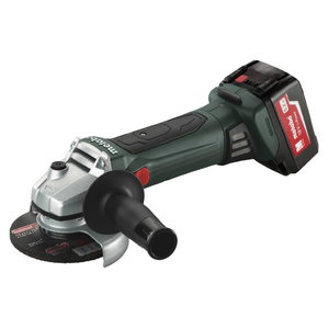 Cordless angle grinder W 18 LTX 125 Quick / 2x5,2 Ah, Metabo
