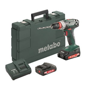 Akutrell BS 18 Quick, 10mm, 18V / 2x2,0Ah, Metabo