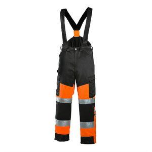 Talve traksipüksid 6022 kõrgnähtav CL1, must/oranz 50