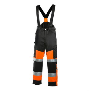 Žieminis puskombinezonis Dimex 6022 juoda/oranžinė 54