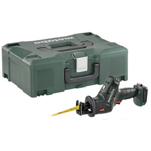 Cordless sabre-saw SSE 18 LTX Compact, without bat / charger, Metabo
