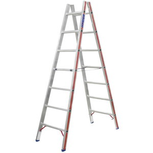 Rung ladder, double-sided accessible 2x8 steps, 2,40 m 6023, Hymer