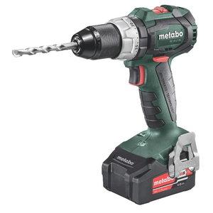 Cordless drill SB 18 LT BL / 2 x 4,0 Ah, Metabo
