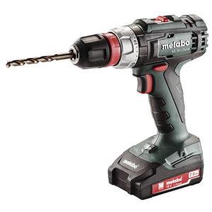 Cordless drill BS 18 L Quick, 13mm, 18V / 2x2,0Ah, Metabo