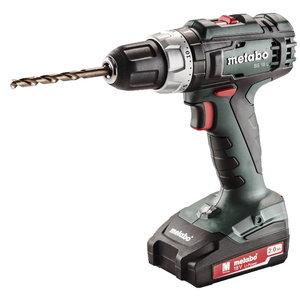 Cordless drill BS 18 L, 13mm, 18V / 2x2,0Ah, Metabo