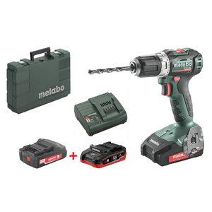 Drill driver BS 18 L BL /2x2,0Ah + 1x3,5Ah LiHD, Metabo