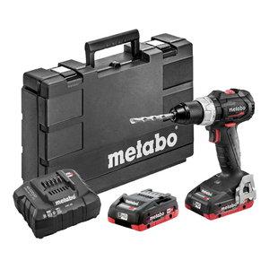 Cordless drill/screwdriver BS 18 LT BL SE / 2x4,0 Ah LiHD, Metabo