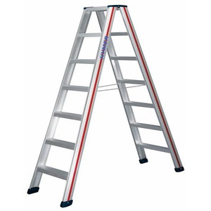 Step ladder, double-sided accessible  6024 / 2x3 steps, Hymer