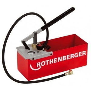 Pompa vamzdyno testavimui rankinė TP 25, 0-25 bar, Rothenberger
