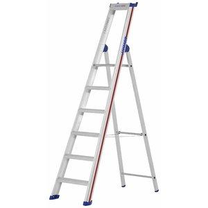 Step ladder with safety platform 6 steps, 2,22m, 6026, Hymer