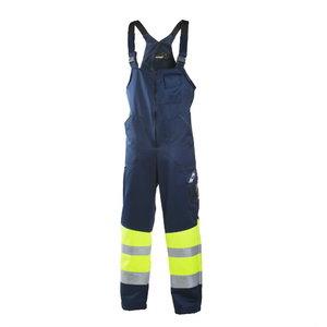 Hig.Wis. Bib-trousers  6033 navy/yellow M, Dimex