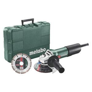 Angle Grinder W 850, 125mm Set, Metabo