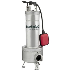 Submersible wastewater pump for construction site, Metabo