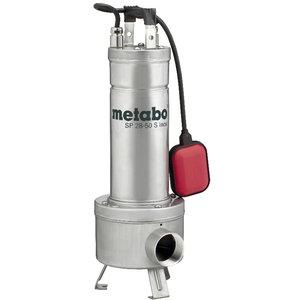 Iegremdējams netīrā ūdens sūknis būvlaukumiem SP 28-50 S Ino SP 28-50 S Inox, Metabo
