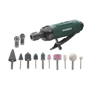 Pneumatic die grinder DG 25 Set, Metabo