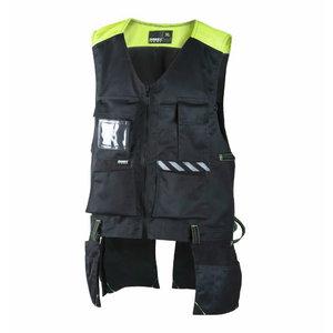 Liemenė su kišenėmis, juoda, Dimex 6043 L