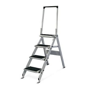 Safety steps with handrail 5 steps 6061, Hymer