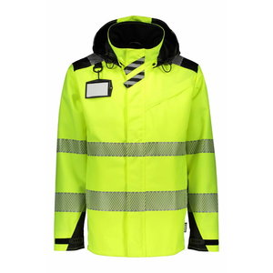 Shell jacket  6066 Hi-Viz yellow-black L, Dimex