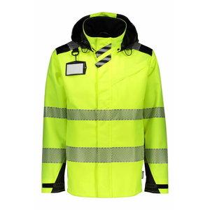Shell jacket  6066 Hi-Viz yellow-black L, , Dimex