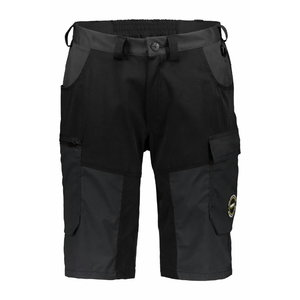 Superstrech shorts  6070 Black/dark grey 3XL, Dimex