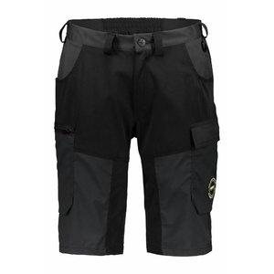 Superstrech shorts  6070 Black/dark grey XL, , Dimex
