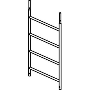 4 rung frame section, Hymer