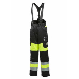 Winter worktrousers women 6072 neon yellow/black S, Dimex