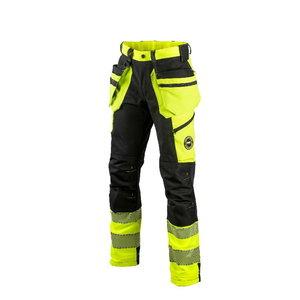 Hi.Vis trousers 6085Y stretch, CL1 yellow/black 52, Dimex