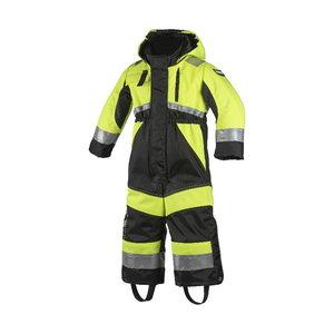 Children's winter coveral 6089, HVIS yellow/black 90