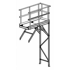 Working platform extension, Hymer