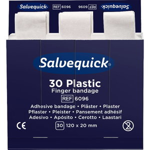 Plastic Finger Bandage, 30 pcs/refill 120 x 20 mm, Cederroth