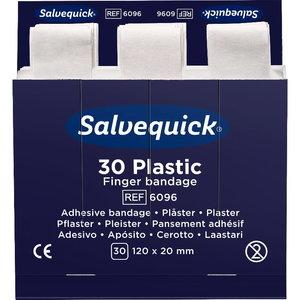 Plastikinis pirštų tvarstis, 30 vnt/papildymui